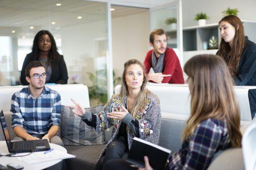 Photo d'une réunion de groupe
