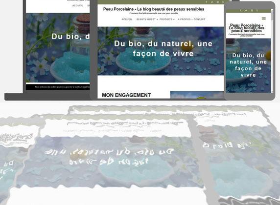 Site web Peau Porcelaine